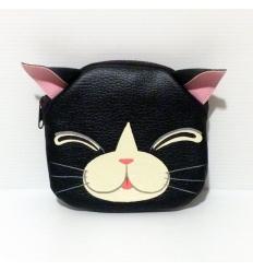 Porta Monete Gatto nero