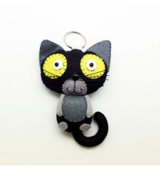 Portachiavi Gatto Nero