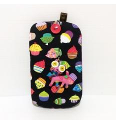 Cover Note Bag - Muffin con gatto