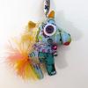 Keychain Unicorn - Vintage Doll