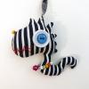 Fucsia Dragon Keychain - Vintage Doll
