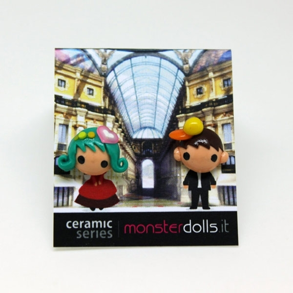 Fashion Couple - Earrings Ceramic Series