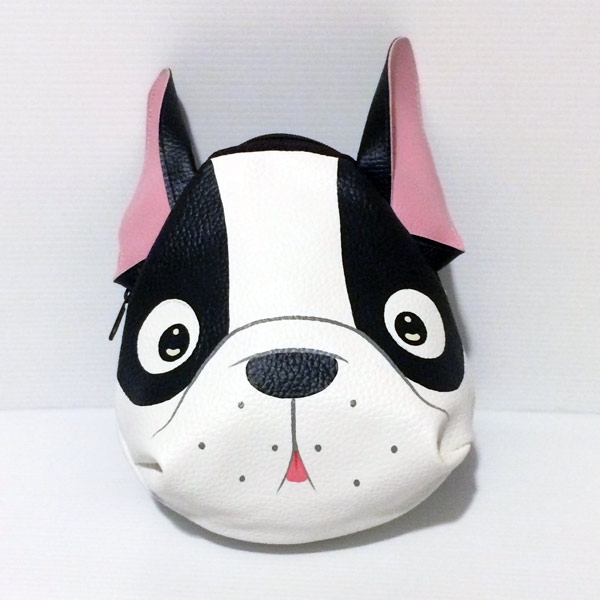 Animal Small Bag White French Bulldog