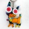 Cat Keychain - Vintage Doll