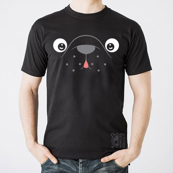 Black T-shirt - French Bulldog